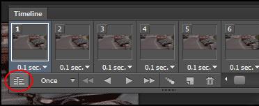 چگونه تصاویر متحرک Gif را در فتوشاپ به یک ویدیو تبدیل کنیم؟