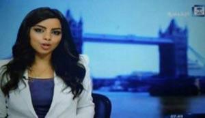 جنجال اولین مجری زن بیحجاب در تلویزیون عربستان + عکس
