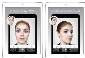 ساخت بی نظیر و جالب تغییر چهره با آینه مجازی + عکس