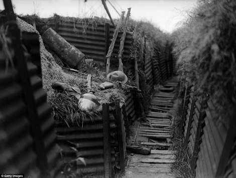 صحنه های واقعی و فوق العاده زیبا از جنگ جهانی اول + عکس