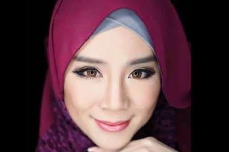 مدل مجلات مالزی امسال در ماه مبارک رمضان مسلمان شد