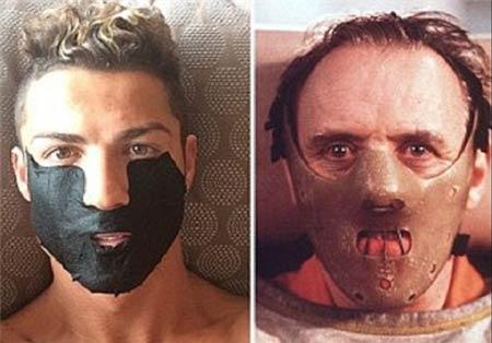 ماسک جنجالی کریستین رونالدو