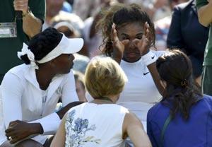 سرنا ویلیامز تنیسور برجسته امریکایی در بستر بیماری + عکس