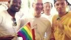 حضور مدیر شرکت اپل در جشنواره همجنس گرایان آمریکا