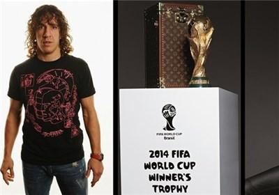کارلوس پویول میهمان ویژه فیفا در فینال جام جهانی