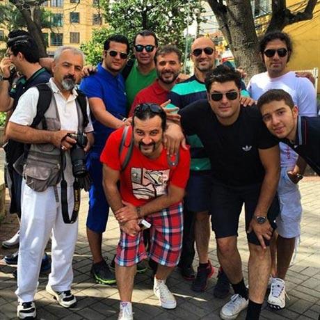 ممنوع التصویر شدن بازیگران ایرانی در برزیل +عکس