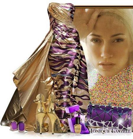 ست لباس زیبا 2014 به سبک جنیفر لوپز