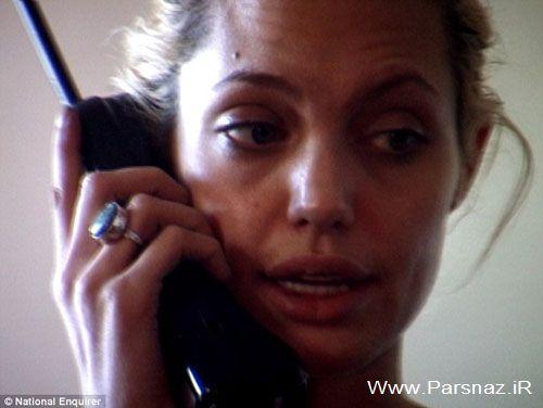 عکس های دوران اعتیاد آنجلینا جولی در 15 سال قبل