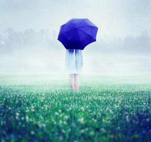 عکس دونفری و زیبای عاشقانه باران
