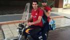 عکس دیدنی وسیله نقلیه دو والیبالیست ملی پوش کشور