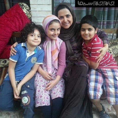 دختر و پسر قلابی کمند امیر سلیمانی +عکس