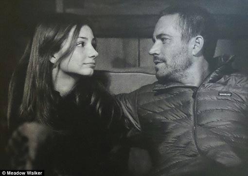 دختر بازیگر معروف پل واکر بعد از مرگ پدرش افسرده شد