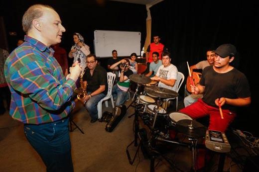 اولین تجربه موسیقی گلاب آدینه بازیگر سرشناس + عکس