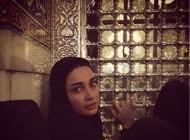 حضور تینا آخوند تبار در مراسم شب قدر+عکس