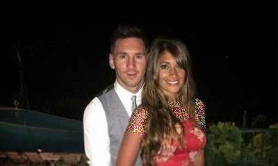 جدیدترین عکس لیونل مسی و همسرش در جزیره کاپری ایتالیا