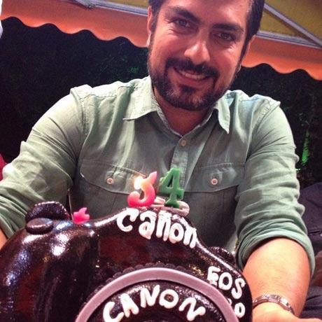 کیک زیبا و دیدنی جشن تولد مهدی پاکدل + عکس
