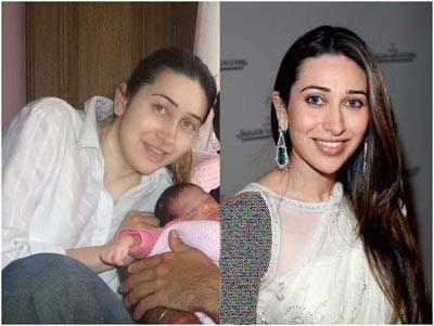 تصاویر دیدنی قبل و بعد آرایش بازیگران زن بالیوودی