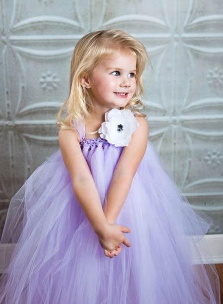 مدل لباس بچگانه عروس فانتزی 2015