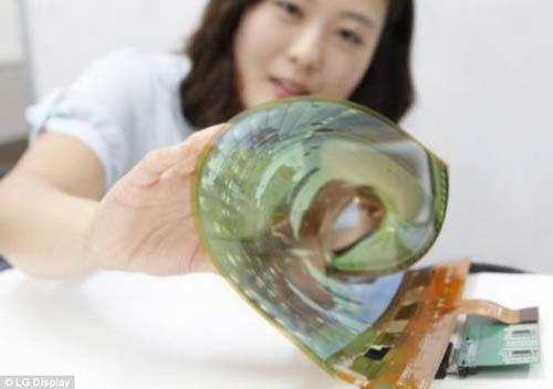 شاهکار LG در صفحه های نمایش تاشو +عکس