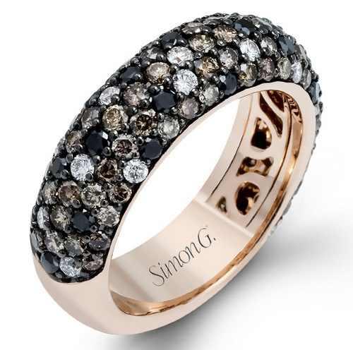 مدل های درخشان و جذاب انگشترهای Simon G