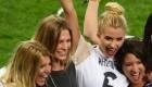 عکسهای همسران بازیکنان آلمان بعد از پیروزی در جام جهانی