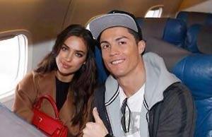 عکس سلفی کریس رونالدو ستاره مشهور فوتبال و نامزدش