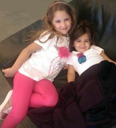 تصاویر باحال از دو دختر زیبا نانسی عجزم