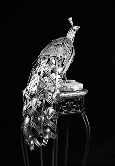 مجسمههای شگفتانگیز قاشق و چنگالی + عکس