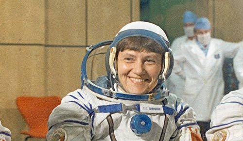 ثبت شدن نام دو سیاره کوچک به نام اولین زن فضانورد