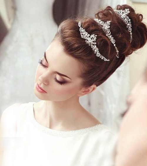 عکس هایی از شیک و متنوع ترین مدل موی عروس