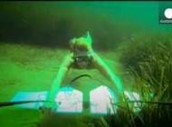 جوان نروژی موفق به ابداع پرواز زیر آب شد + عکس