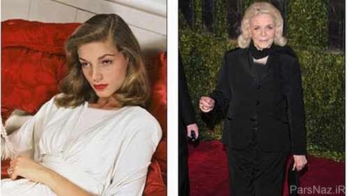 عکس شجاعانه یک زیباروی هالیوودی در 88 سالگی