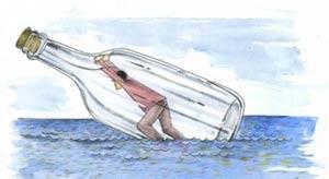 طنز جالب شهروندان مختلف هنگام غرق شدن