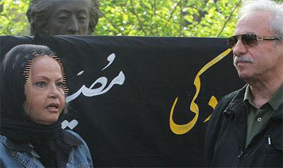 ثریا حکمت بازیگر ایرانی در گوشه خیابان زندگی میکند + عکس