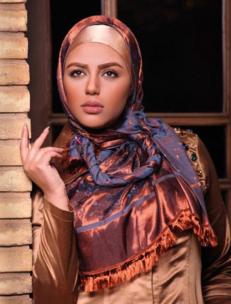 چندین مدل تاپ و شیک شال و روسری دخترانه و زنانه