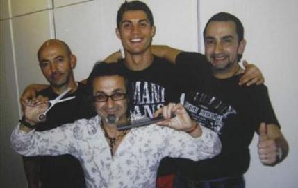 گفتگوی جذاب با آرایشگرهای رونالدو فوتبالیست مشهور