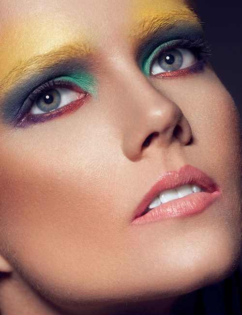 جدیدترین مدل های آرایش و میکاپ صورت فانتزی