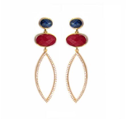 مدل گوشواره های دخترانه با طرح های فانتزی