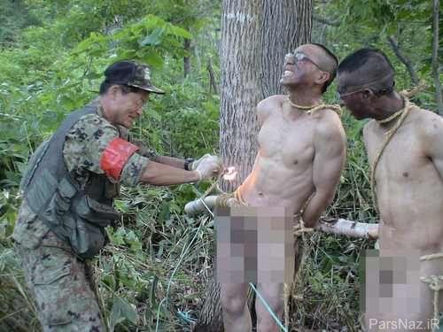 آموزش فنون نظامی بی شرمانه و سانسوری + عکس
