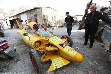 تصاویری از اختراعات باورنکردنی مردم چین
