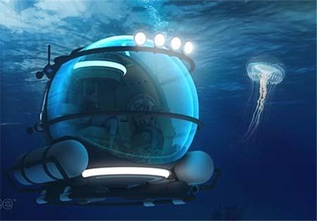 تصاویر ویژه و دیدنی از زیردریایی خانوادگی