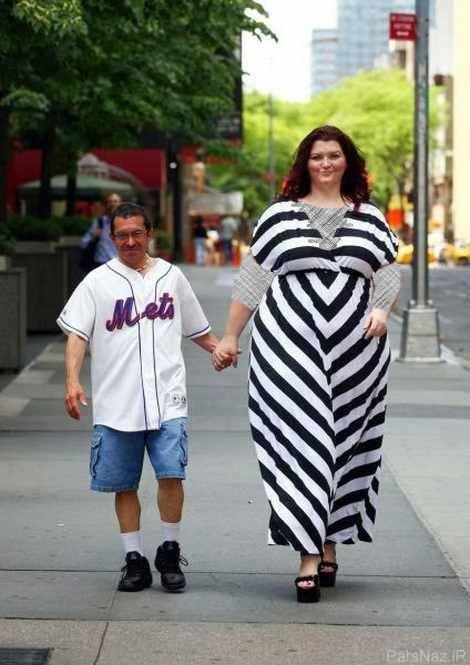 مردها با دیدن قد و هیکل این زن پا به فرار میگذارند + عکس