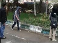 دختران دانشگاهی در خیابان + عکس