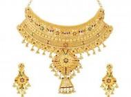 جدیدترین مدل های سرویس طلا طرح هندی