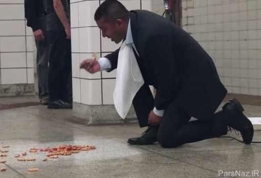 کار عجیب مدیر ارشد در مترو مردم را شوکه کرد + عکس