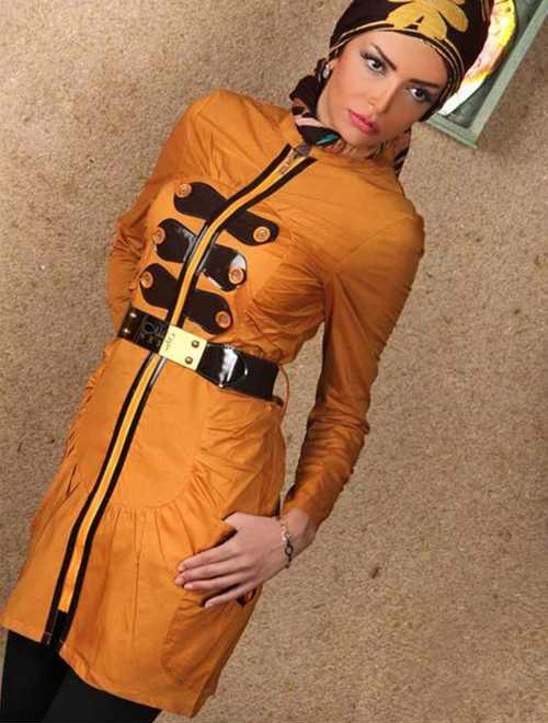 مدل های جدید از مانتو زنانه و برند ایرانی