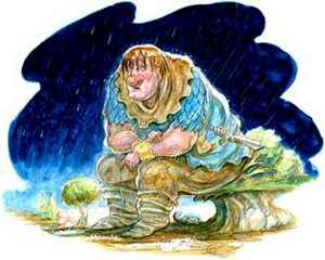 قصه خواندنی و کودکانه ی خانم غول و آقا غول