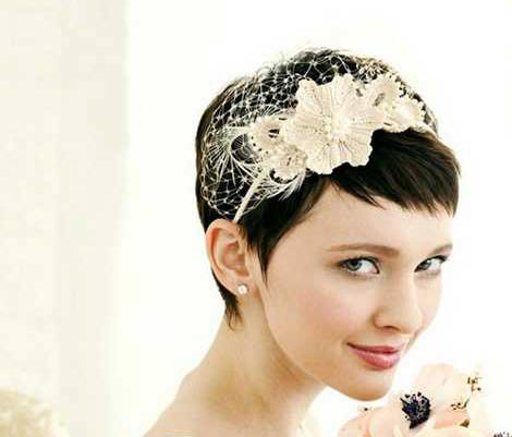 جدیدترین و شیک ترین عکس های  مدل موی کوتاه ویژه عروس