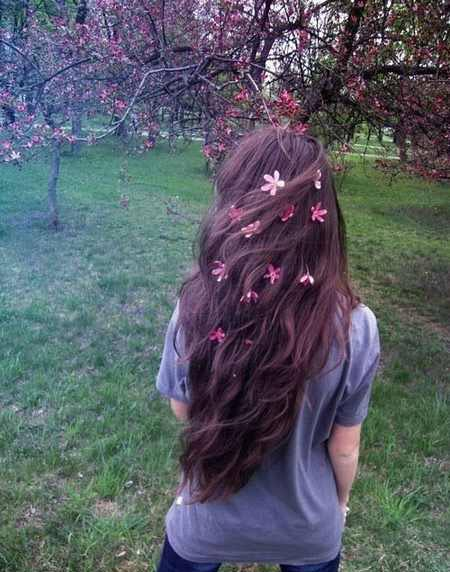زیباترین مدل موهای عروس با طرح گل طبیعی