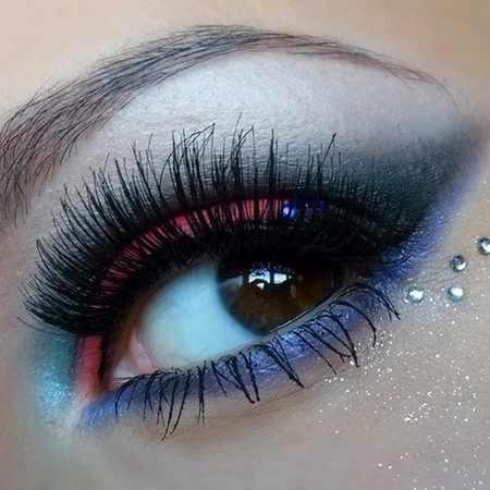 گلچین زیبا و منتخب از آرایش چشم مجلسی